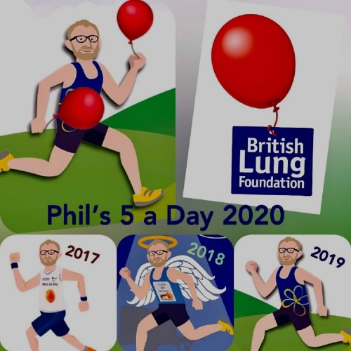 Phil Winngton charity challenge 2020
