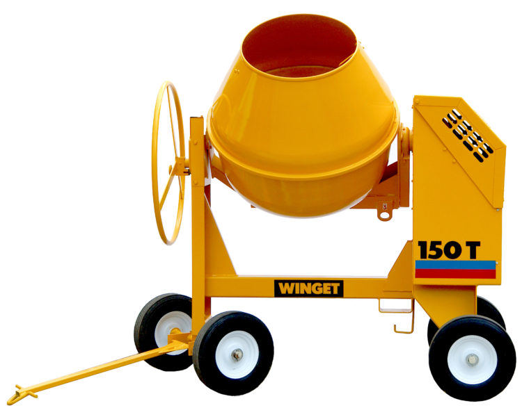 WINGET 150T HAND FED MIXER