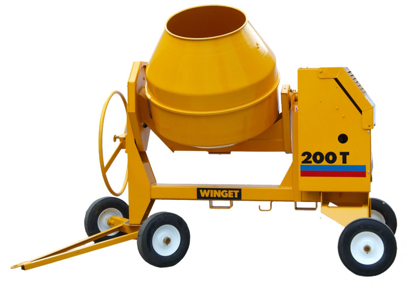 WINGET 200T HAND FED MIXER