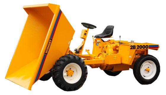 WINGET 2B2000 DUMPER TIPPED