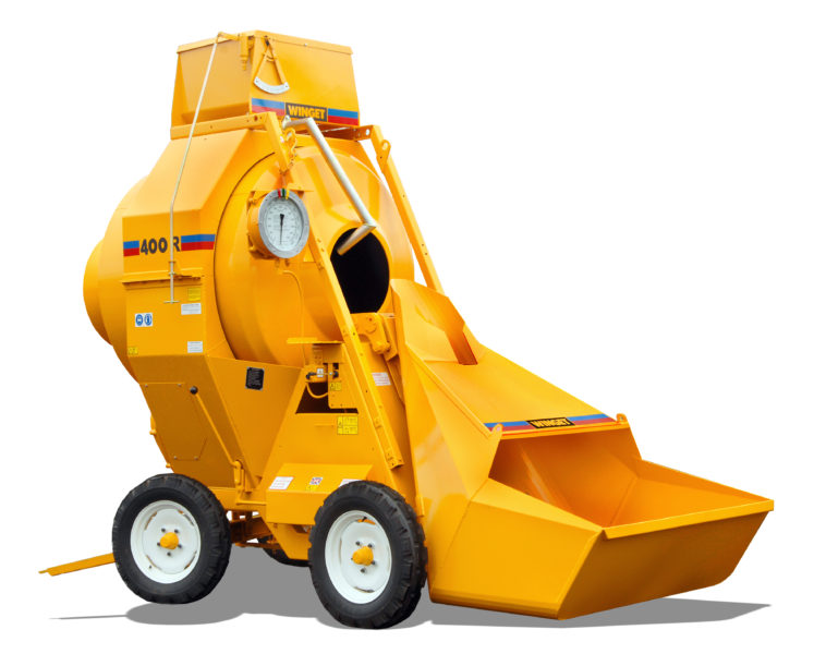 WINGET 400R MIXER WITH ATTACHMENT