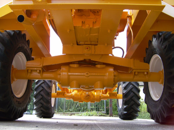 WINGET 4B2000 HD AXLES AND WHEELS