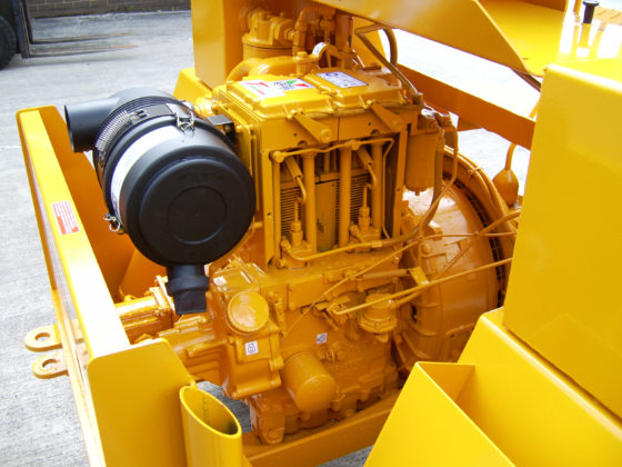WINGET 4B2000 HD (HIGH DISCHARGE SKIP) ENGINE