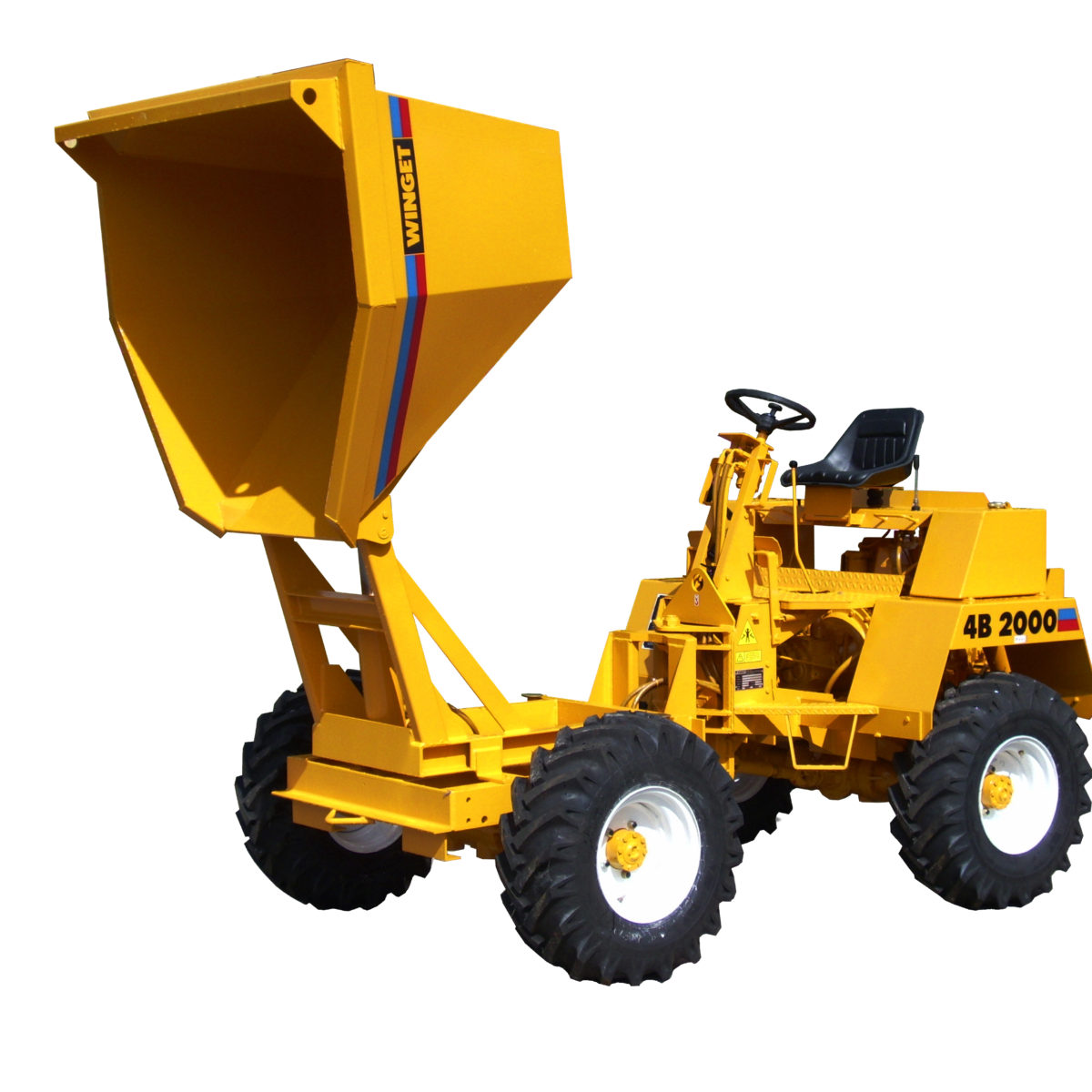 4B Range (4 wheel drive site dumpers)