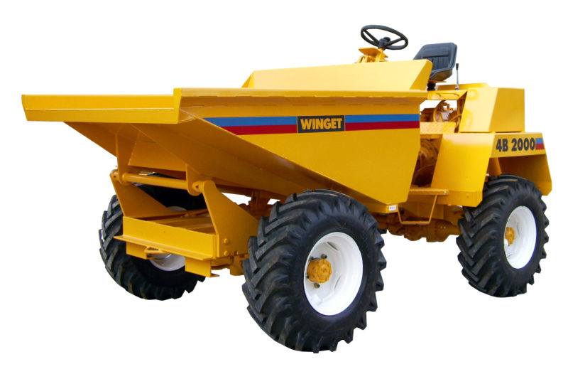 WINGET 4B2000 HT LOW DISCHARGE SKIP