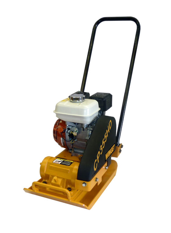 WINGET CP355HD WITH COMPACTOR PLATE