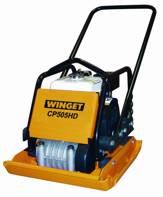 WINGET CP505HD WITH COMPACTOR PLATE