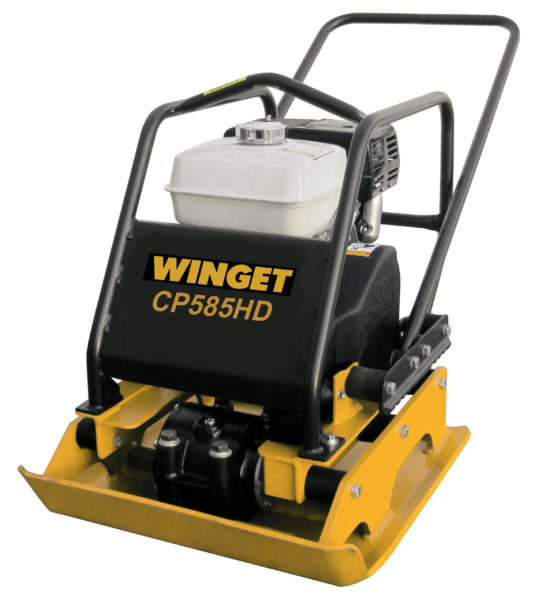 WINGET CP585HD COMPACTOR PLATE